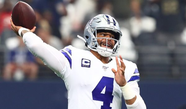 nfl week 3 dfs picks-quarterback breakdown-draftkings and fanduel-dak prescott