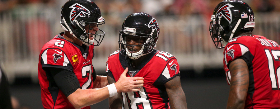 Week 12 Nfl Dfs Stacks Calvin Ridley Could Fly On Sunday Fantasylabs
