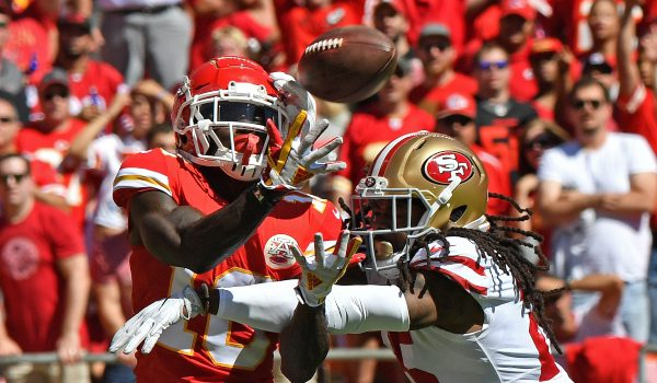 Tyreek Hill-Richard Sherman