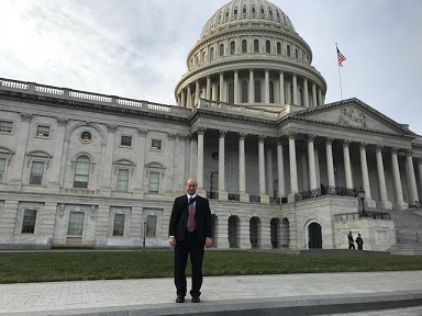 Paul Curley after Congressional Briefing