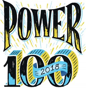 Power 100 2018 Logo