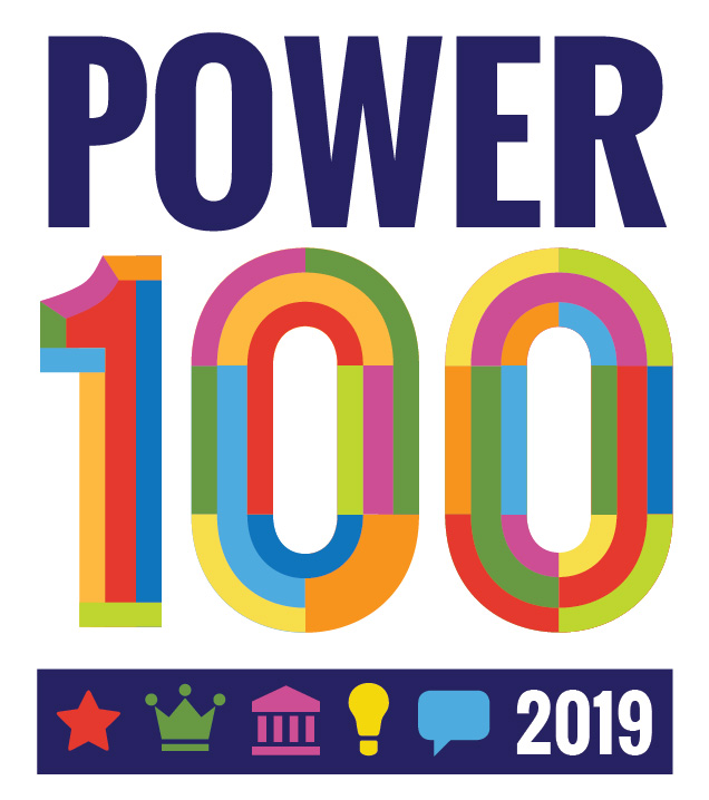 power 100 logo