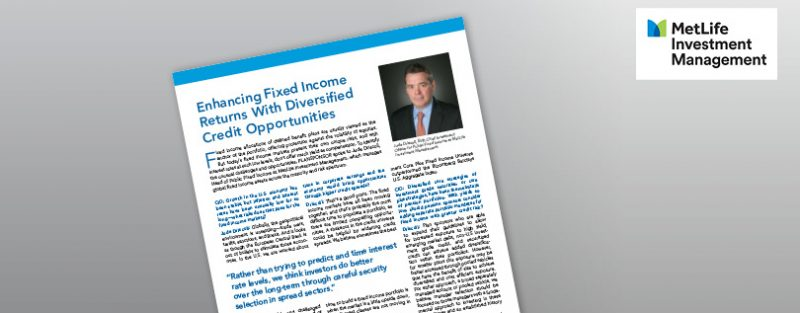 Enhancing Fixed Income  Returns With Diversified Credit Opportunities
