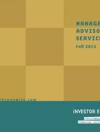 Managed Money Report – Fall 2012