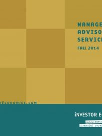 Managed Money Report – Fall 2014