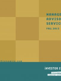 Managed Money Report – Fall 2013