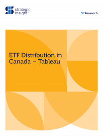 ETF Distribution in Canada—Tableau Q1 2019