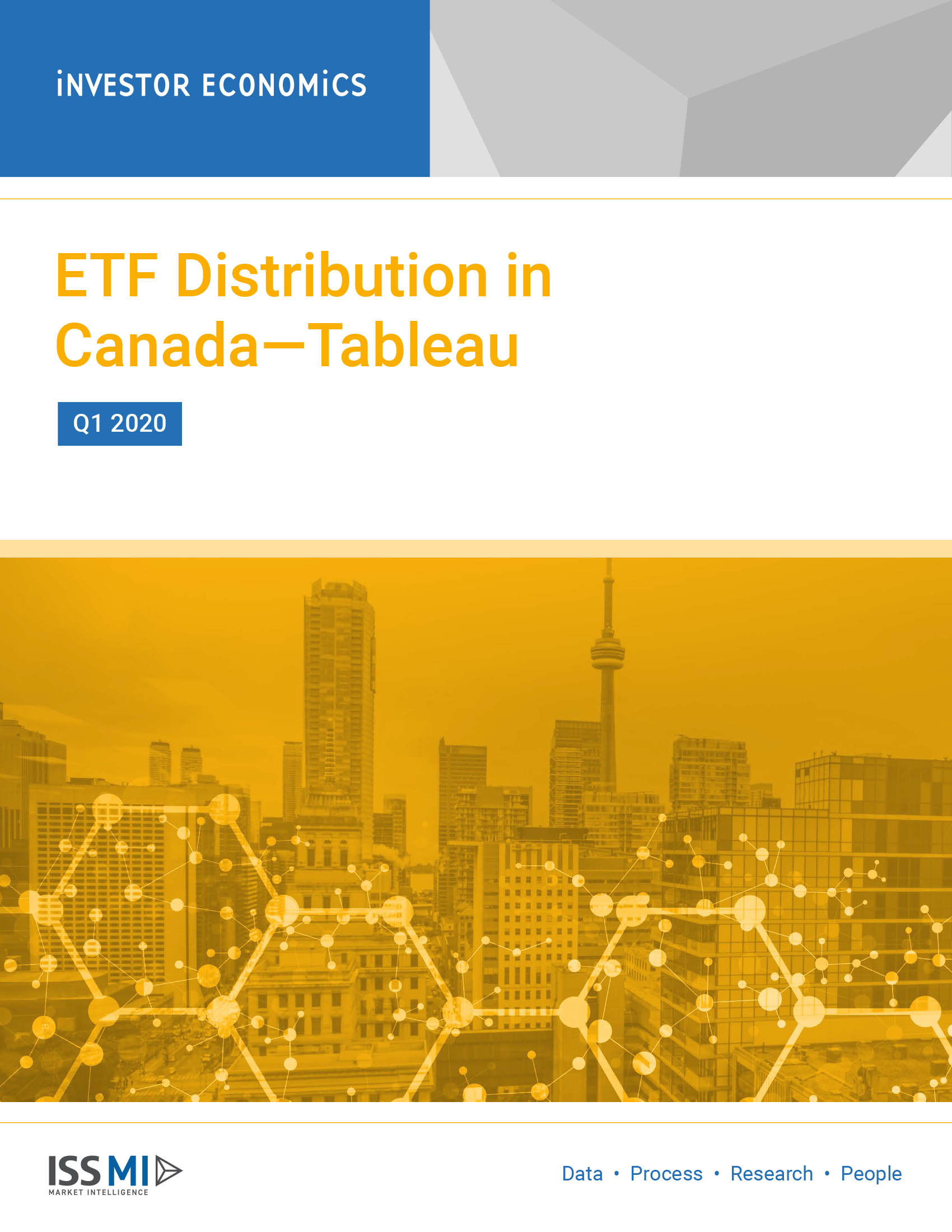 ETF Distribution in Canada—Tableau Q1 2020