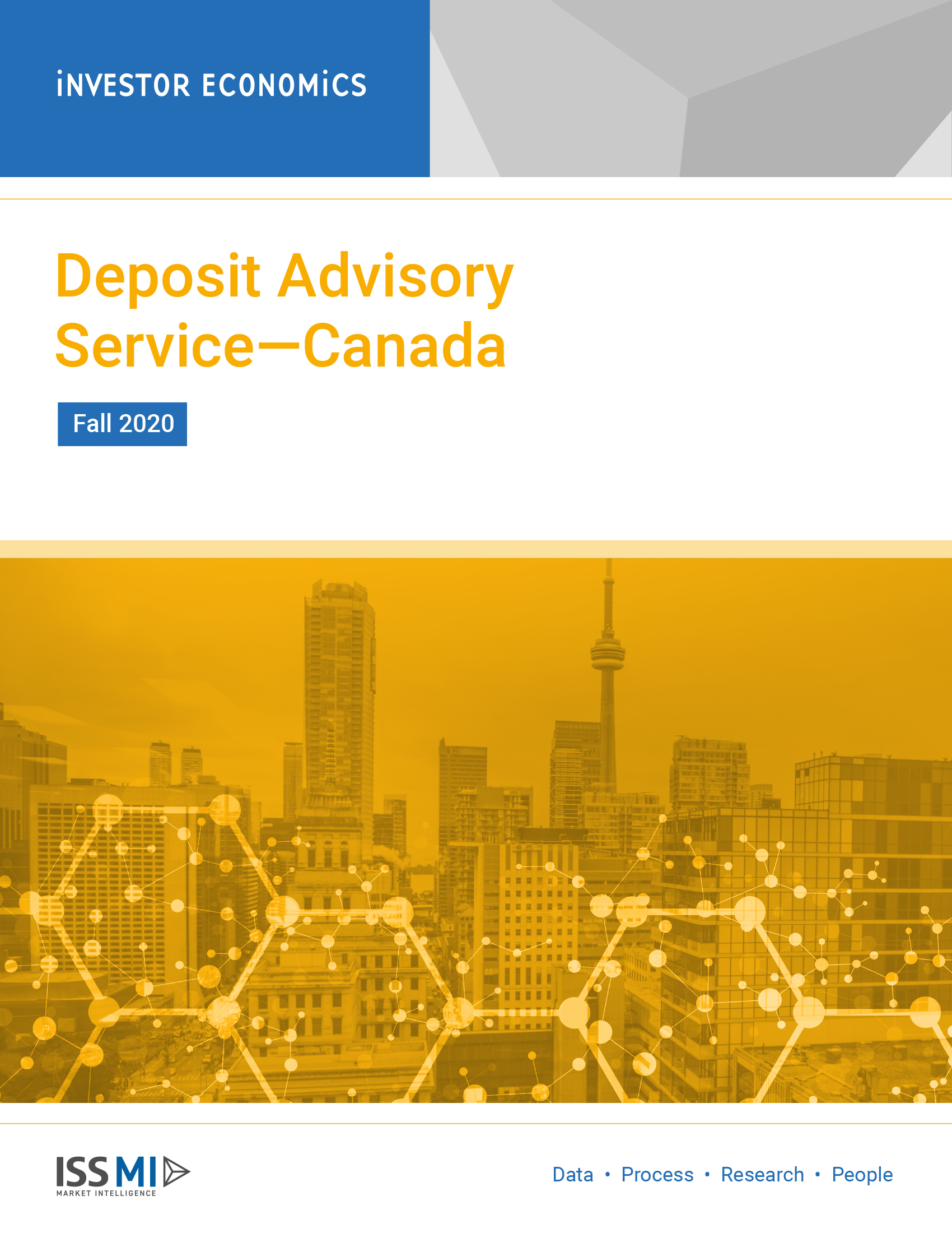 Deposit Advisory Service Fall 2020