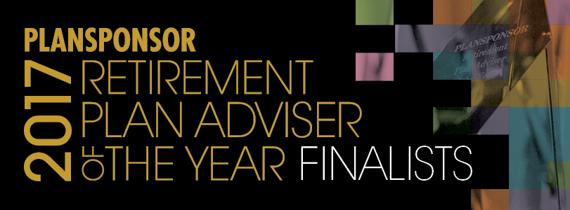 2017 PLANSPONSOR Retirement Plan Adviser of the Year
