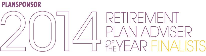 2014 Retirement Plan Adviser of the Year