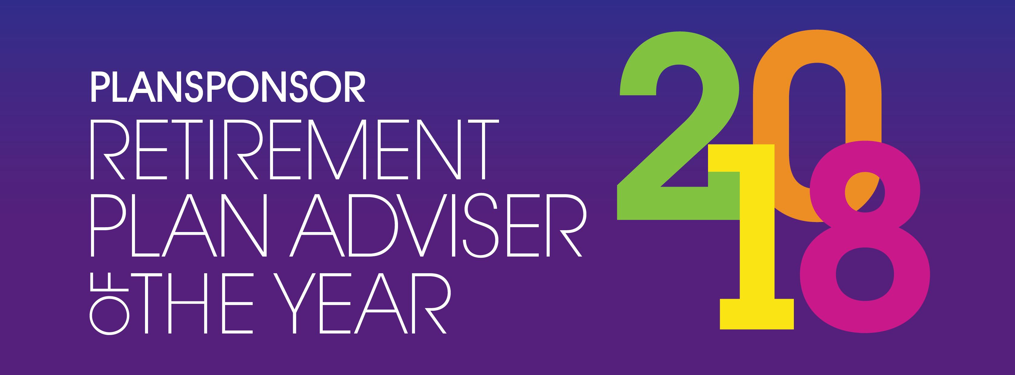 2018 PLANSPONSOR Retirement Plan Adviser of the Year