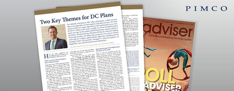 Two Key Themes for DC Plans