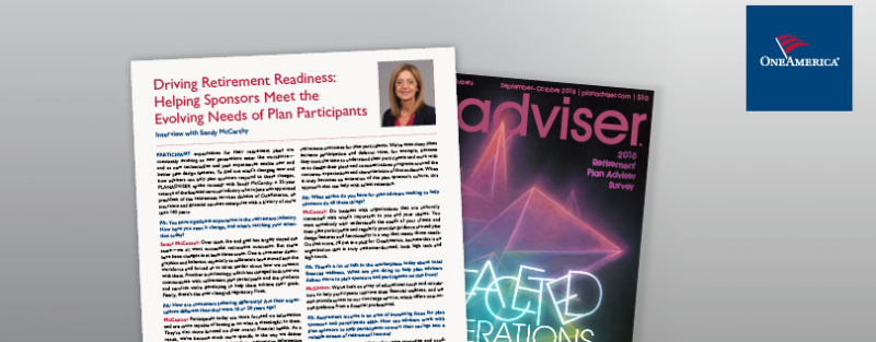 Driving Retirement Readiness: Helping Sponsors Meet the Evolving Needs of Plan Participants