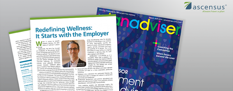 Redefining Wellness:  It Starts with the Employer