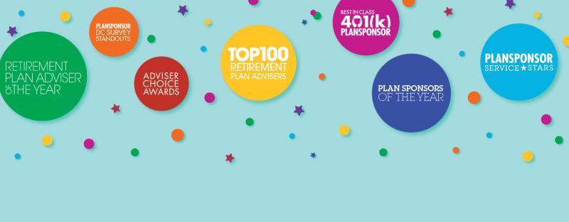 2020 PLANSPONSOR /PLANADVISER Excellence in Retirement Awards Dinner
