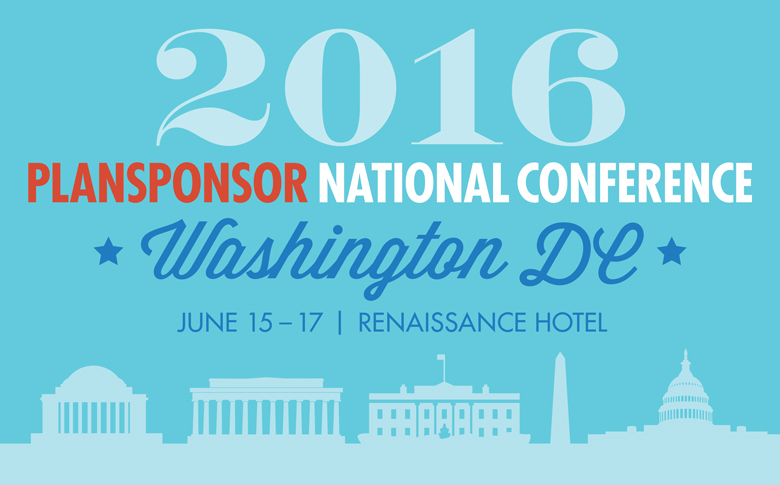 2016 PLANSPONSOR National Conference | PLANSPONSOR