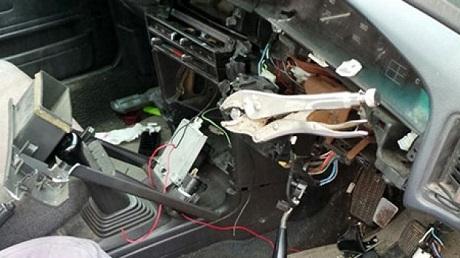 car steering vice grips