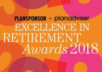 2018 PLANSPONSOR / PLANADVISER Excellence in Retirement Awards Dinner