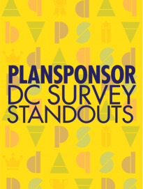 PLANSPONSOR DC SURVEY STANDOUTS