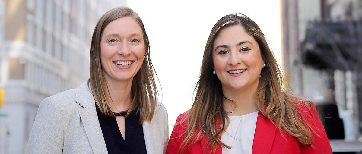 BOK Financial, Katie Krapff and Hannah Morton