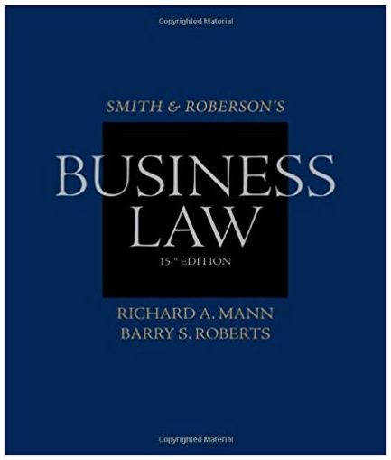 Smith and Roberson Business Law