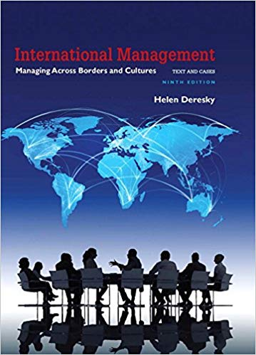 International Management Managing Across Borders and Cultures Text and Cases