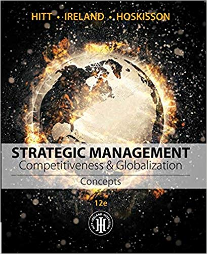 Strategic Management Concepts and Cases Competitiveness and Globalization
