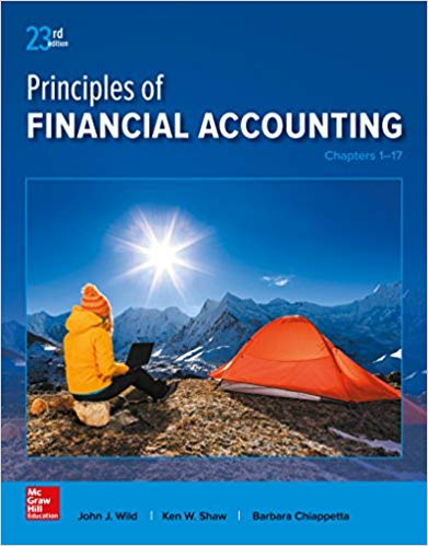 Principles of Financial Accounting  chapters 1-17