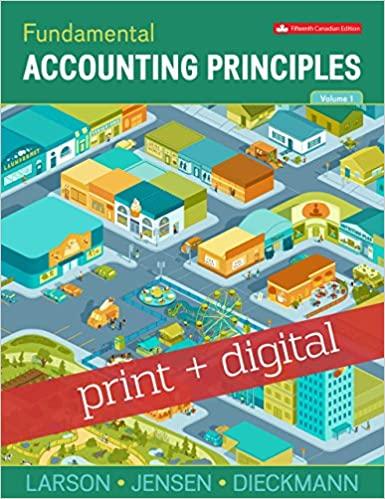 Fundamental Accounting Principles Volume 1