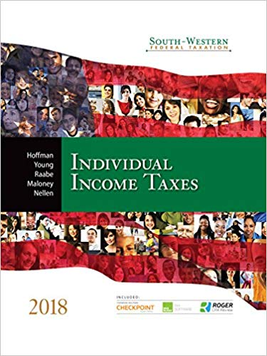 South Western Federal Taxation Individual Income Taxes 2018