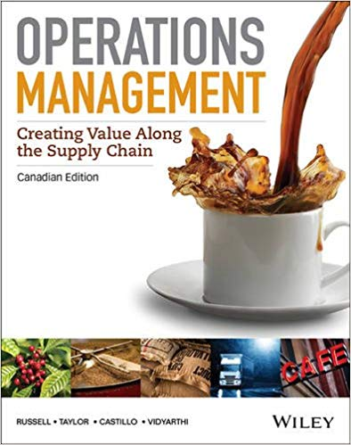 Operations Management Creating Value Along the Supply Chain