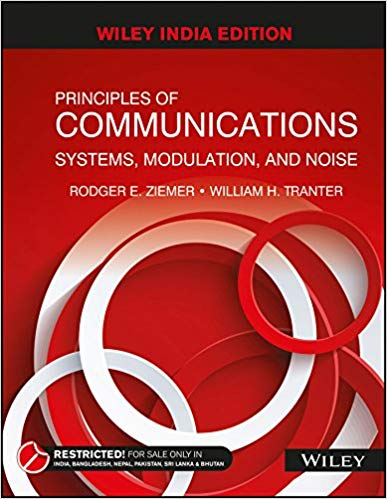 Principles of Communications Systems, Modulation and Noise