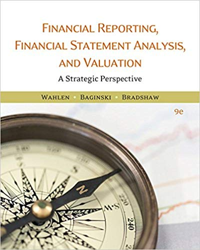 Financial Reporting Financial Statement Analysis and Valuation a strategic perspective