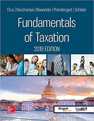 Fundamentals of Taxation 2019