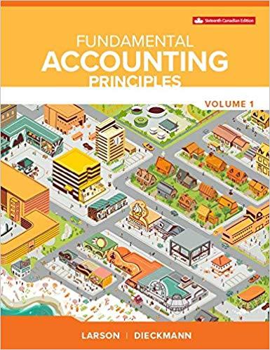 Fundamental Accounting Principles Volume I