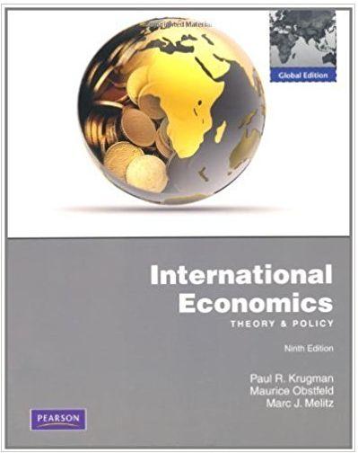 International Economics Theory and Policy