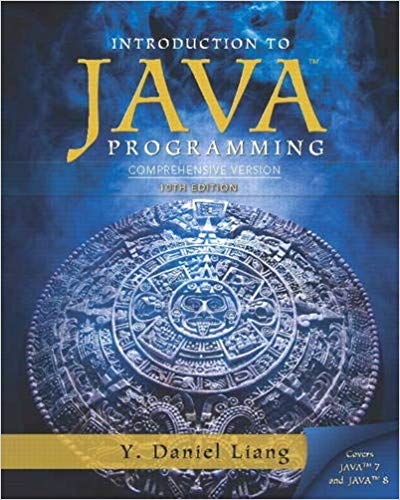 Introduction to Java Programming, Comprehensive Version
