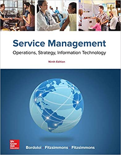 Service Management Operations, Strategy, Information Technology