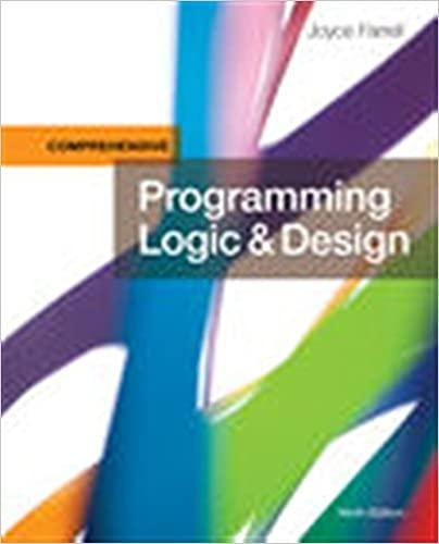 Programming Logic & Design Comprehensive