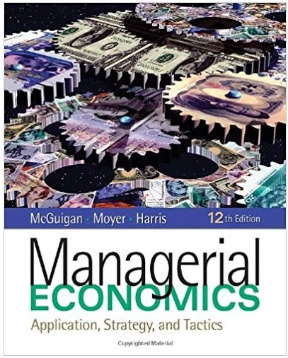 Managerial economics applications strategy and tactics