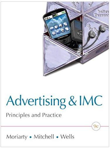 Advertising & IMC Principles & Practice