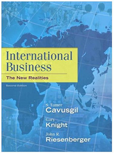 International Business and the New Realities