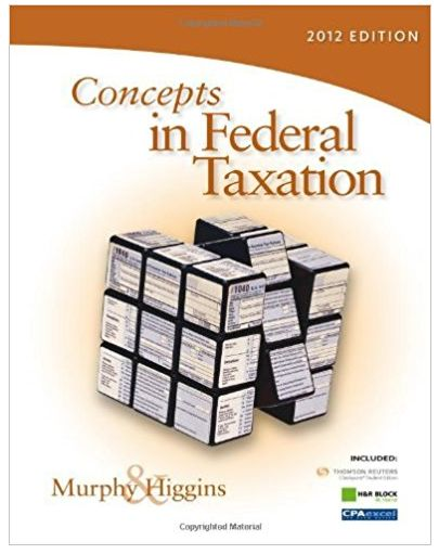 Concepts in Federal Taxation