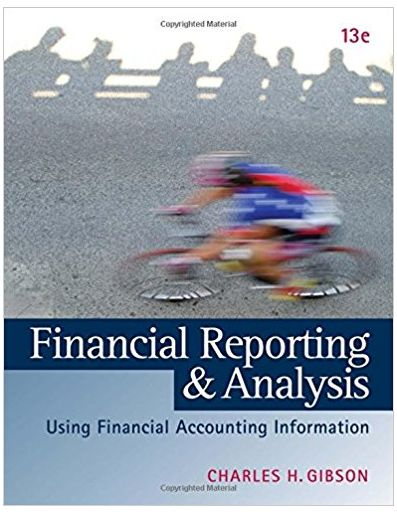 Financial Reporting and Analysis Using Financial Accounting Information