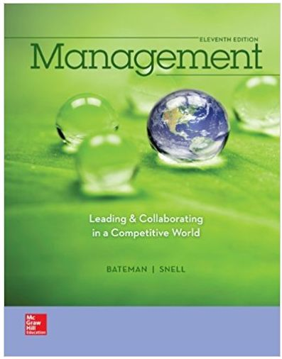 Management Leading & Collaborating in a Competitive World