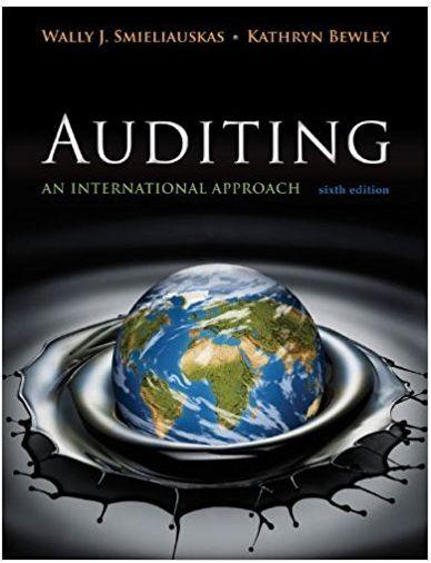Auditing An International Approach