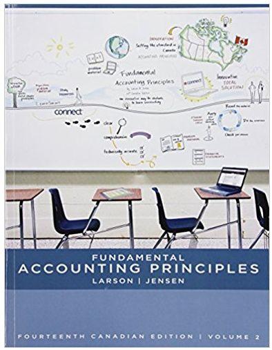 Fundamental Accounting Principles Volume II