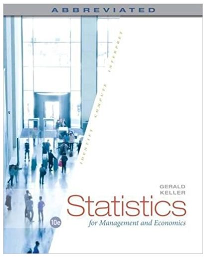 Statistics for Management and Economics Abbreviated