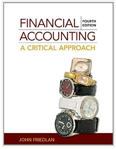 Financial Accounting A Critical Approach